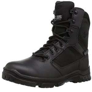 "Danner Men's Lookout Side-Zip 8"" Black Military and Tactical Boot"