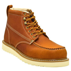 GOLDEN FOX MEN'S PREMIUM LEATHER LIGHT WEIGHT WORK BOOTS
