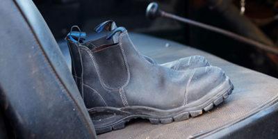 best slip on work boot