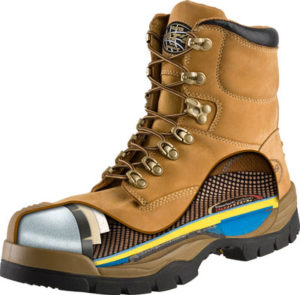 Types of safety toe work boots